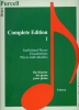 Purcell, Henry : Purcell - Edition Complete I - Pieces Individuelles