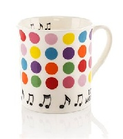 Colour Block Mug - Spots