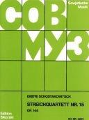 Chostakovitch, Dimitri : Quintette avec Piano Opus 57