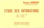Mangeot, Anne-Marie : Exercices d'Intonations - 3ème Cahier : Les Bémols