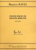 Maurice Ravel : Pavane pour une Enfant Défunte pour Piano