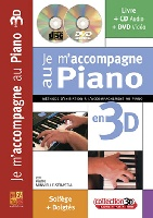 Je M'accompagne Au Piano 3D + CD + DVD