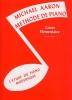 Michael Aaron - Méthode de Piano - Cours Élémentaire - 2e Volume