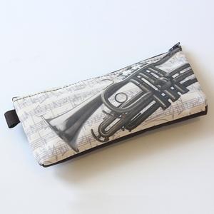 Trousse Trompette [Pencil Case Trumpet]