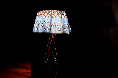 Lampe avec Abajour - Musical Notes