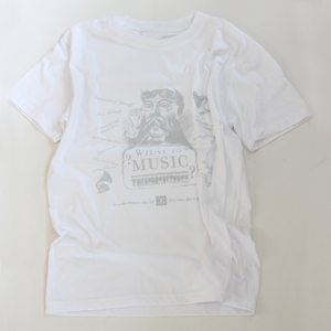 T-shirt What is Music - Blanc - S - M - L - XL