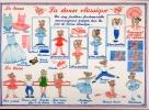 Carte Postale d\'Art `La Danse Classique`