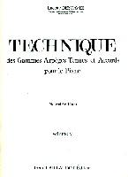 Descaves, Lucette : Techniques des Gammes Arpèges Tenues et Accords Vol.2