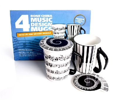 Music Notes - Pack Of Four