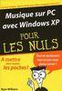 William, Ryan : Musique sur PC avec Windows XP pour les Nuls