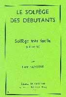 Classens, Henry : Solfège Des Débutants Clé De Fa