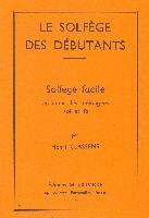 Classens, Henry : Solfège Des Débutants Clés De Sol and Fa