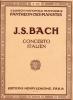 Bach, Johann Sebastian : Italian Concerto BWV 971 / Italienisches Konzert BWV 971