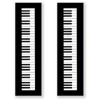 Marque Pages - Touche de Piano