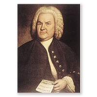 Carte Postale Bach