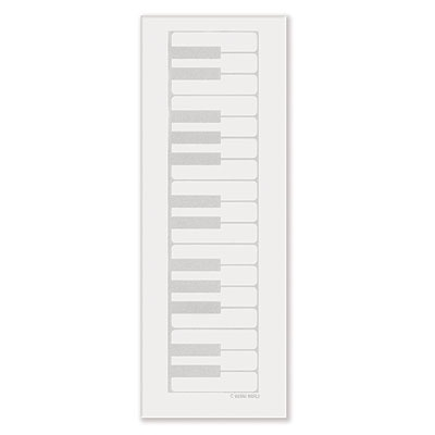 Bloc-Notes - Format Allongé - Piano