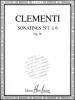 Clementi, Muzio : Livres de partitions de musique