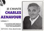 Aznavour, Charles : Je Chante Aznavour
