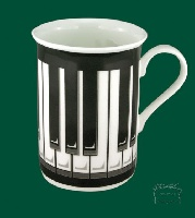 Mug - Touche de Piano (Noir / Blanc)