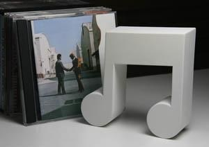 CD Stand - White Quavers