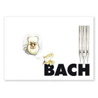 Carte Postale Humoristique Bach