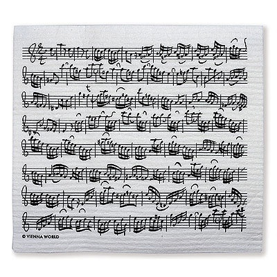 Sponge clothes Sheet Music Bach (2pcs) Bach