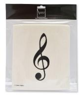 Sponge Cloth G-clef (2 pcs)