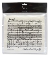 Sponge Cloth Sheet Music Mozart (2 pcs)