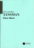 Tansman, Alexandre : Piano Album