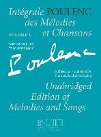 Poulenc, Francis : Intégrale des Mélodies et Chansons - Volume 1