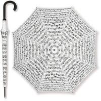 Parapluie Blanc - Portée Noire