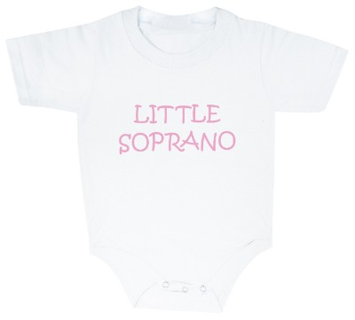 Body B�b� - Little Soprano (Blanc et Rose)
