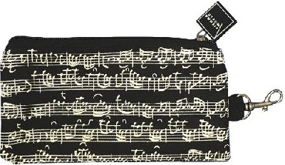 Pencil Case Sheet Music Black