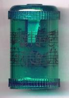 Taille-Crayons - Portée (Vert)