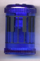Taille-Crayons - Piano (Bleu)