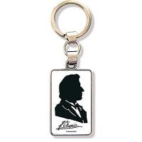 Porte-Clefs Silouhette Chopin