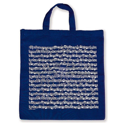 Sac en Tissu - Portée (Bleu Marine)