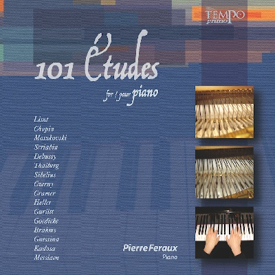CD Audio : 101 Etudes pour piano