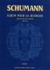 Schumann, Robert : Livres de partitions de musique