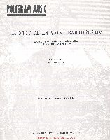 Goran, Bregovic : La Nuit De La St Barthélémy