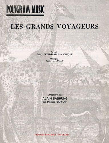 Bashung, Alain : Les Grands Voyageurs