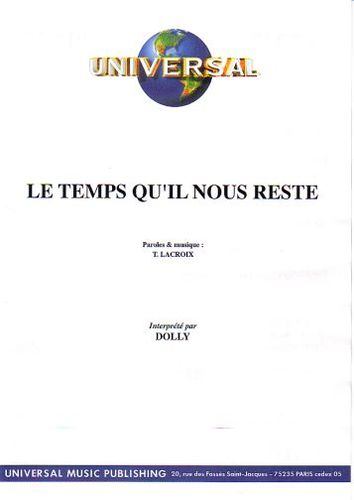 Dolly : Le Temps Qu'Il Nous Reste