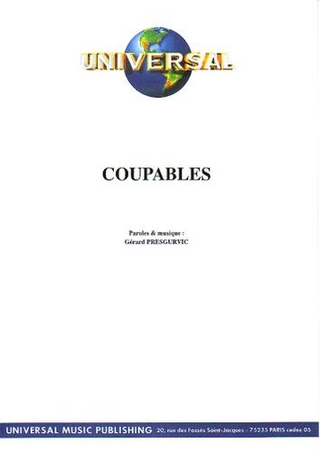 Presgurvic, Gérard : Coupables