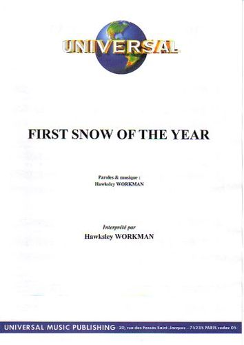 Workman, Hawksley : First Snow Of The Year