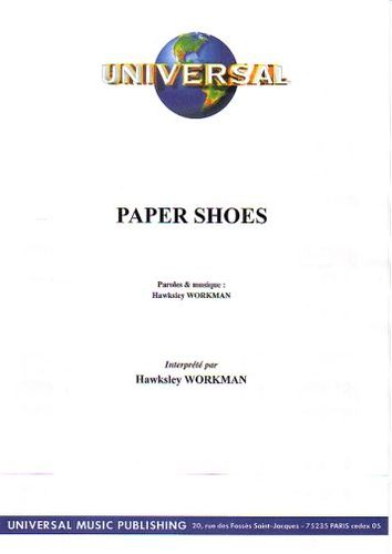 Workman, Hawksley : Paper Shoes