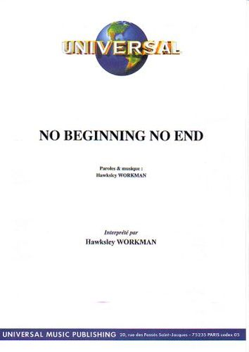 Workman, Hawksley : No Beginning No End