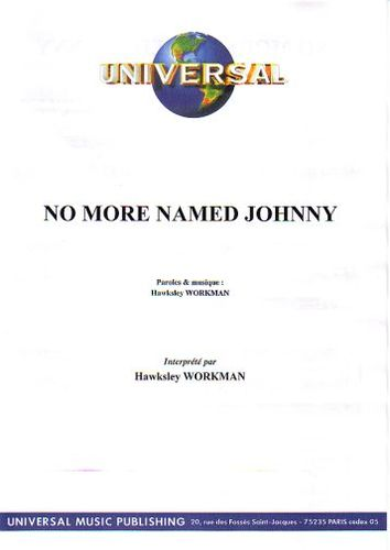 Workman, Hawksley : No More Named Johnny