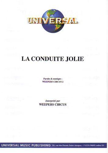 Weepers Circus : La Conduite Jolie