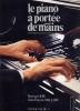 PIANO Methodes : Livres de partitions de musique