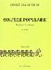 Van de Velde, Ernest : Solfège Populaire - Clé de Sol